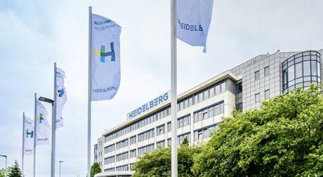 Heidelberg startet gut ins neue Geschäftsjahr