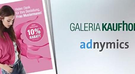 Personalisierte Paketbeilagen locken Onlinekunden in Galeria-Kaufhof-Filialen