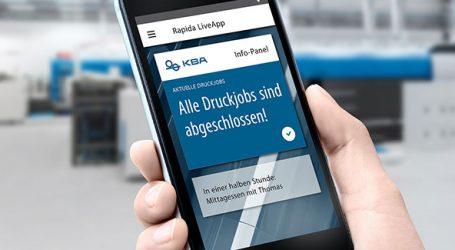 Auch KBA kann autonom Drucken