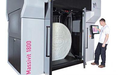 Massiver 3D-Drucker für Werbetechnik