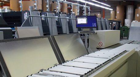 Sandler automatisiert Plattenlogistik