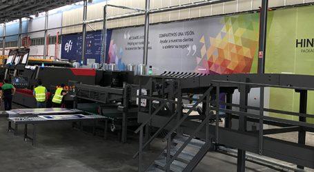 Digitaler Wellpappendruck  bei Hinojosa erfolgreich angelaufen