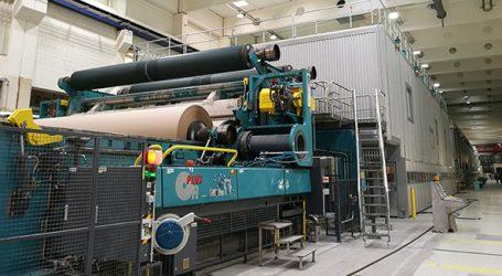 Bei Laakirchen Papier ist Produktion von Wellpappenrohpapier ist angelaufen