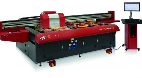 Innovativer Flachbettdrucker von EFI