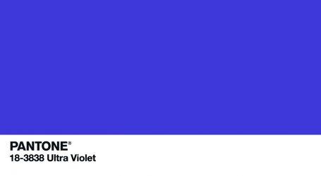 Pantone 18-3838 die Trendfarbe 2018