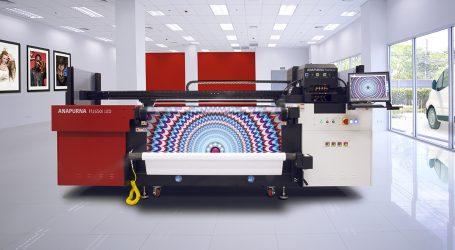 Hybriddrucker von Agfa für Signage und Display