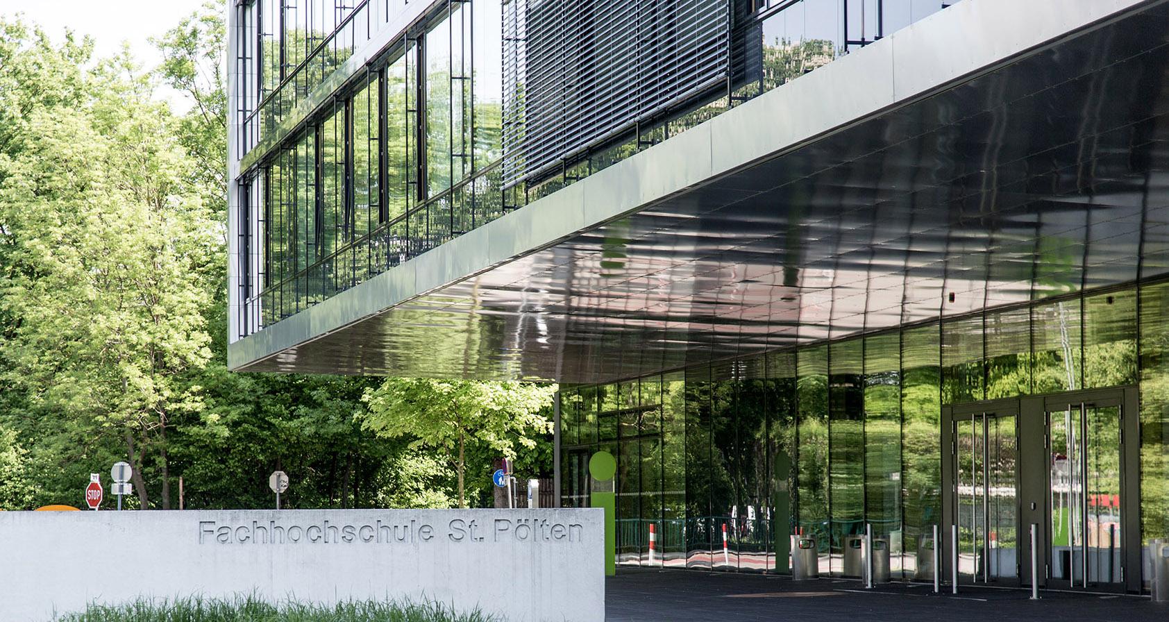 Neue studieng nge an der fh st p lten graphische revue for Fachhochschule architektur