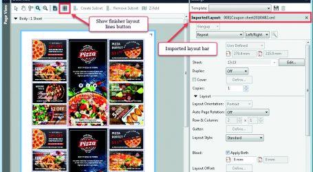 Integration von Digitaldruck und Weiterverarbeitung