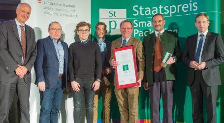Staatspreis 2018 für Smart Packaging