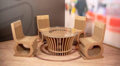 Kreative Möbel aus Karton