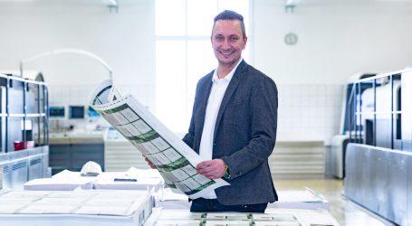 Heinz Petelin leitet Qualitätsmanagement bei Samson Druck