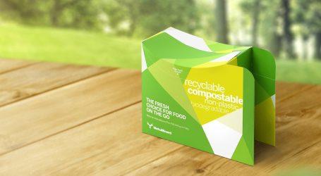 Karton mit innovativer Ökobarriere