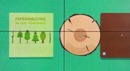Die Papierindustrie versteht sich als ein Teil der Klimalösung