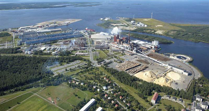 Papierfabrik Oulu