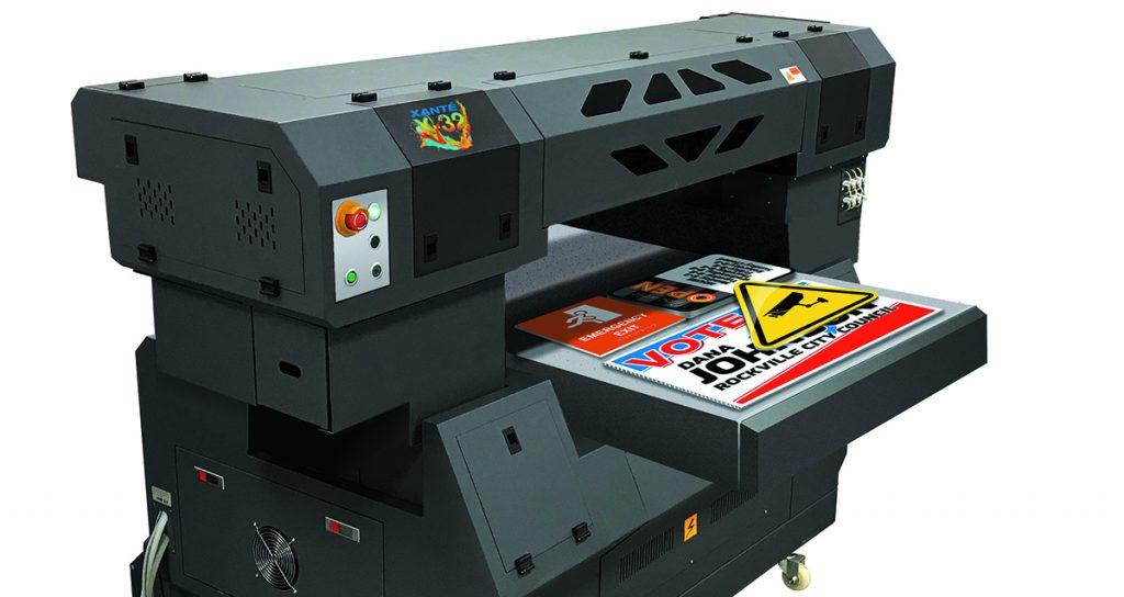 Flachbettdrucker