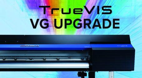 Ein Upgrade für aktuelle TrueVIS VG-Modelle