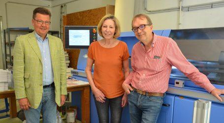 Buchbinderei Immerl: Der Vareo zieht Arbeit an