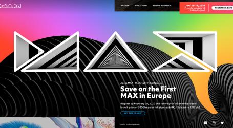 Kreativkonferenz Adobe MAX kommt nach Europa