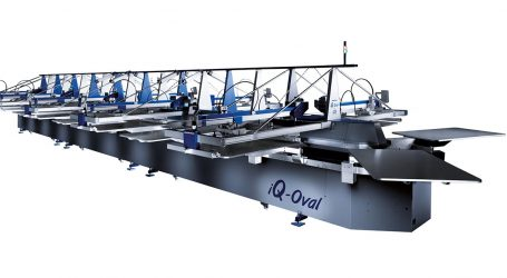 Hybrid-Technologie für den Textildruck