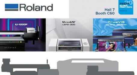Roland DG enthüllt neue digitale Möglichkeiten