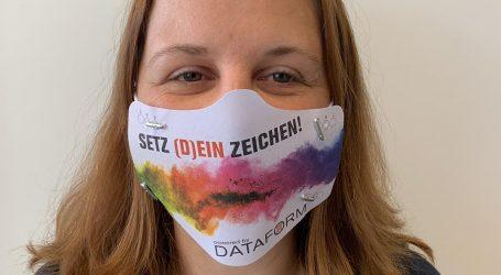 Setz (D)ein Zeichen mit einer individuellen Maske