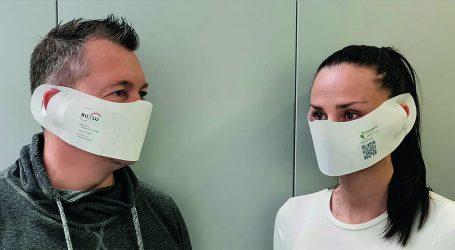 Umweltfreundliche Einwegmasken von der BuLu