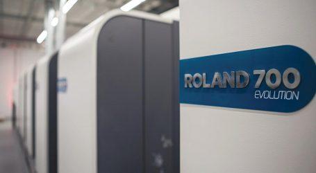 Roland 700 Evolution sorgt bei Mayr-Melnhof für neuen Schwung