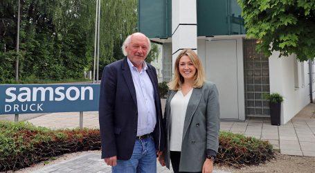 Samson Druck – neuer Standort für Salzburger Vertriebsbüro