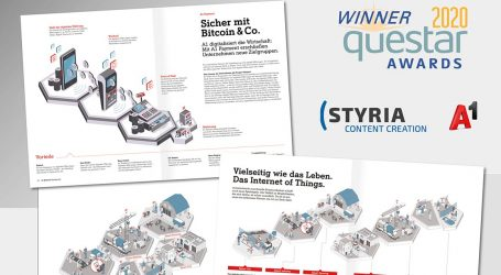 Styria Content Creation räumt bei Questar Awards ab