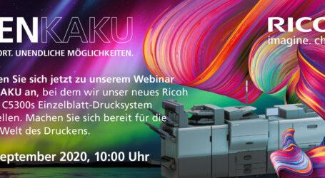 """Webinar """"Henkaku Live"""": die neue Serie Pro C5300s von Ricoh"""