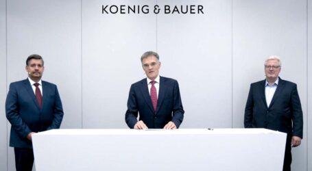 Koenig & Bauer steigt auf Kostenbremse