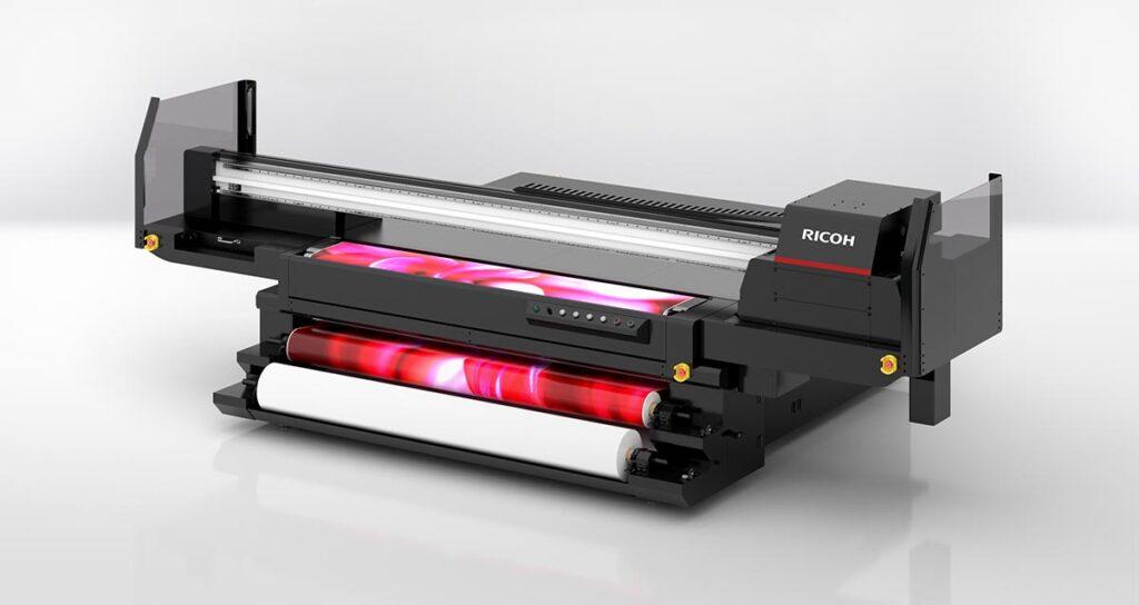 UV-Hybrid-Flachbettdrucker
