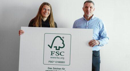 druck.aterhält FSC-Zertifizierung