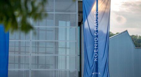 Koenig & Bauer: 2021 leichtes Umsatzwachstum