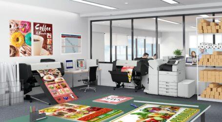 Fünf Drucker für die CAD- und Poster-Produktion