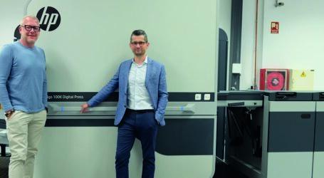 Flyerline Schweiz investiert in HP Indigo 100K