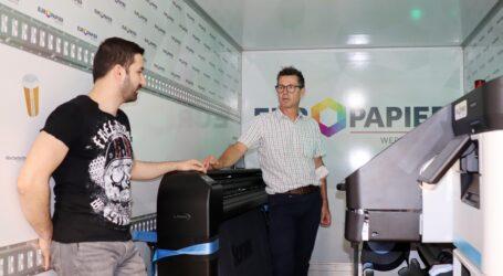 Europapier Werbetechnik – HP-Latex-System tourt durch Österreich