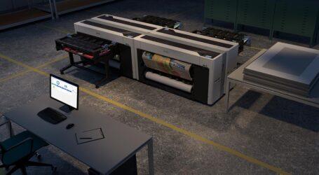 44-Zoll-Drucker für Produktivität und Sicherheit